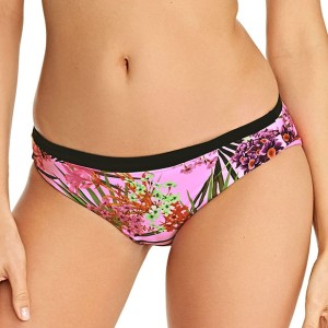 FREYA-SWIM-LOST-IN-PARADISE-PINK-NON-PADDED-BANDEAU-AS4029-REVERSIBLE-BIKINI-BRIEF-AS4032-F2-RIGHT-TRADE-3000-AW17