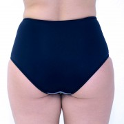 Freya-Bondi-Grey-High-Waist-Brief-Back