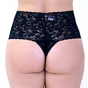 Hanky-Panky-Retro-Thong-Black-Back